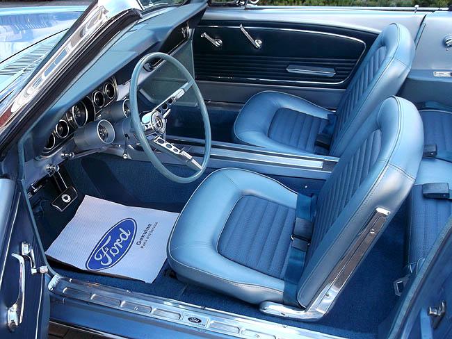 1966 Mustang Convertible Gt Blue New